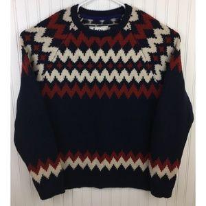 Boden Sweater Crew Neck Pullover Wool Blend XXL